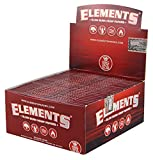 Elements Red King Size Slim Papers aus Hanf 10 Heftchen