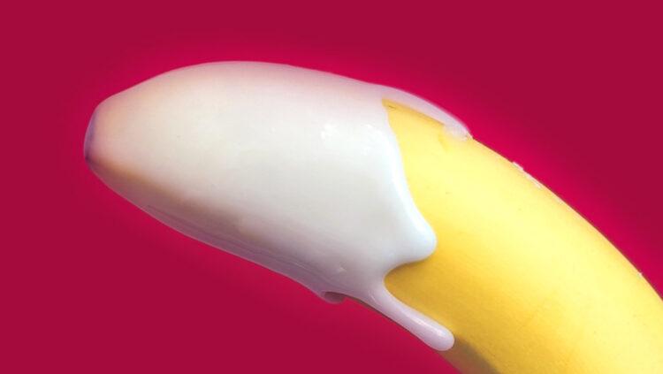 Cannabis und Sex Sperma Banane