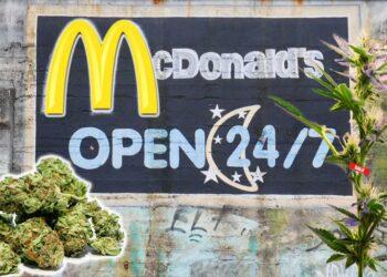 Gras kaufen bei McDonalds