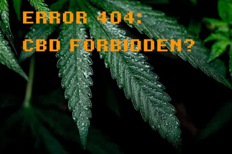 CBD fällt nicht mehr unter Novel Food, weil es jetzt eine Droge ist?